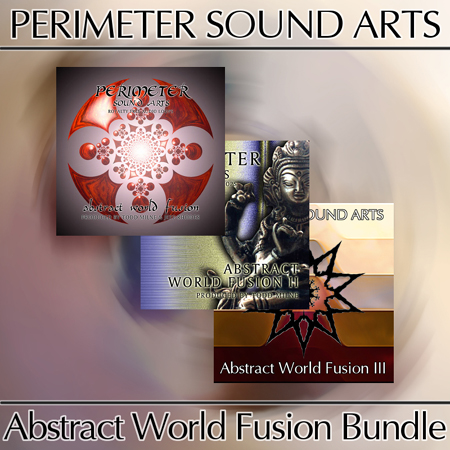 Product picture Abstract World FusionTriple Loop Samples Bundle Vol 1-2-3