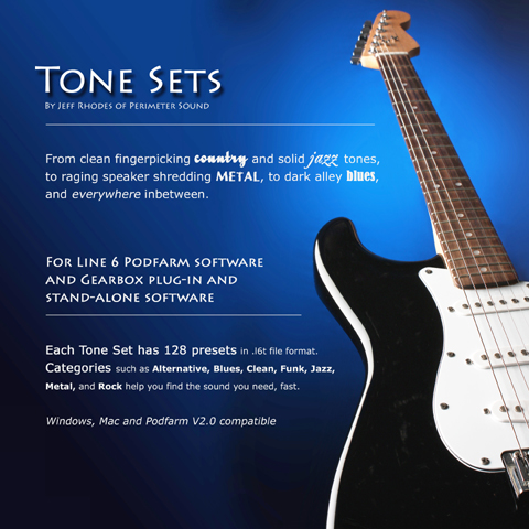 Product picture Line 6 GuitarPort Tone Set  #6 (Dualtones) POD Farm